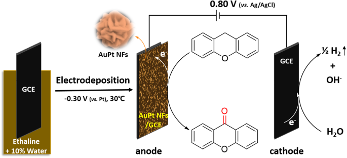 Electrochemical Synthesis Of AuPt Nanoflowers In Deep Eutectic ...