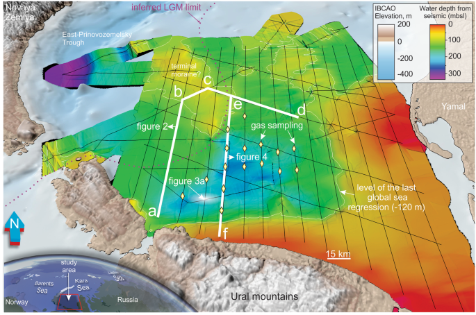 Shallow carbon storage in ancient buried thermokarst in the