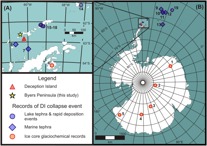 The timing and widespread effects of the largest Holocene