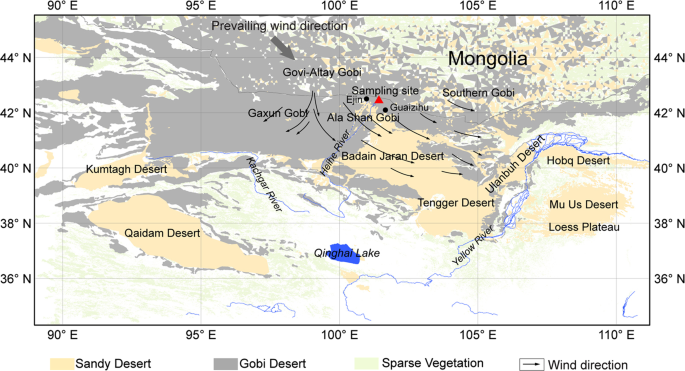 Contributions of modern Gobi Desert to the Badain Jaran ...