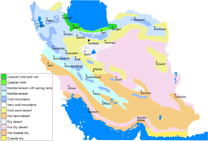 The future of extreme climate in Iran | Scientific Reports
