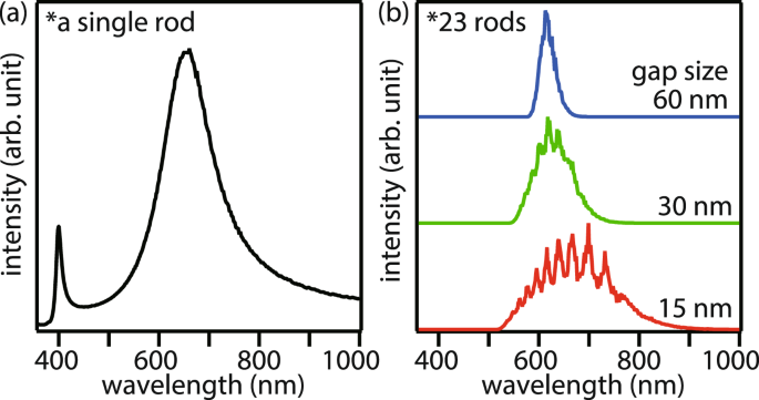 Tapered arrangement of metallic nanorod chains for magnified plasmonic nanoimaging