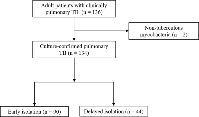 Risk Factors for Delayed Isolation of Patients with Active