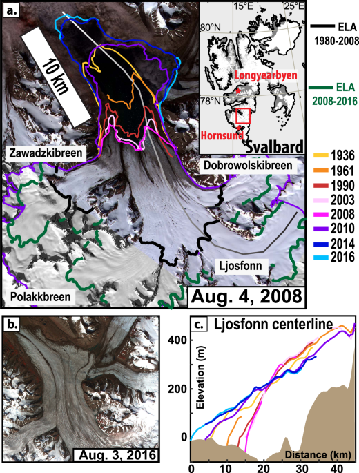 Dynamic vulnerability revealed in the collapse of an Arctic