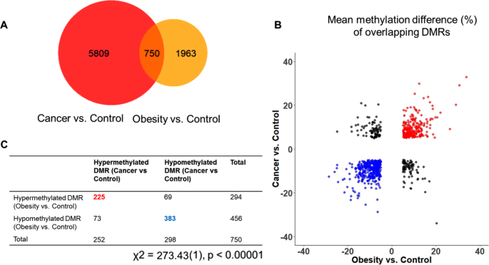 Genome-wide Analysis Reveals DNA Methylation Alterations in Obesity Associated with High Risk of Colorectal Cancer