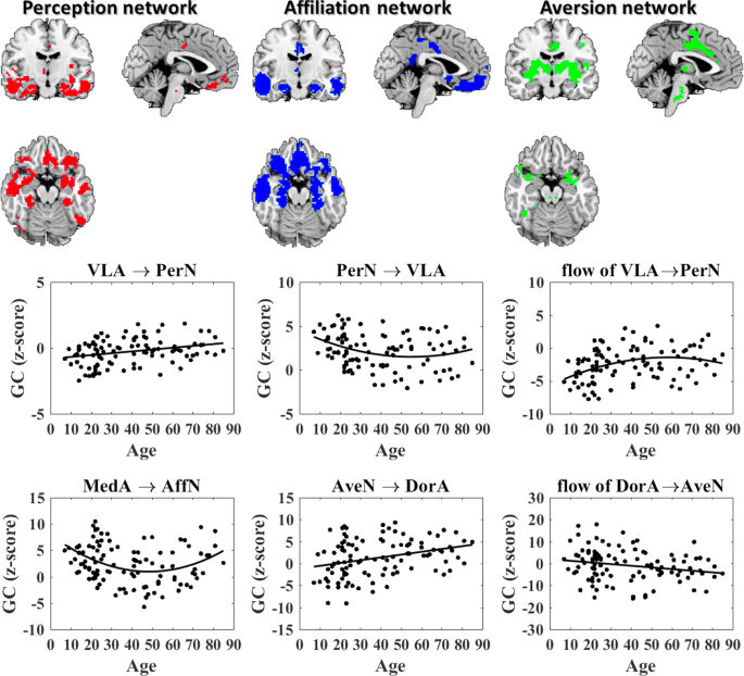 Causal Interactions in Human Amygdala Cortical Networks across the Lifespan