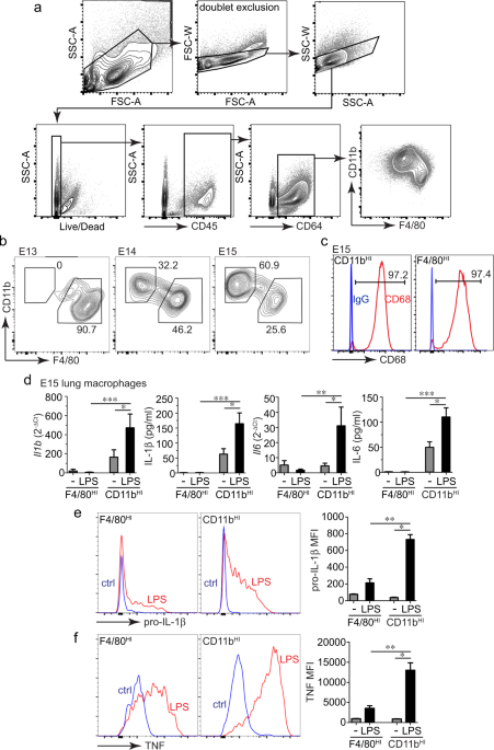 Disrupted Immunity In Fetal Brain Is >> Differential Immune Activation In Fetal Macrophage Populations
