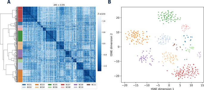 Single-cell RNA-seq variant analysis for exploration of
