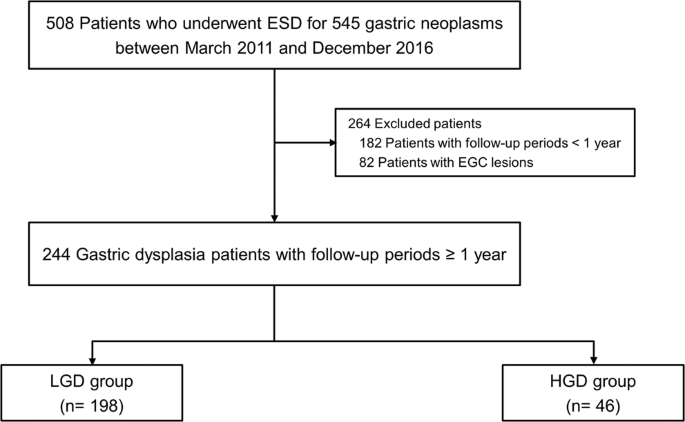 Gastric cancer follow up