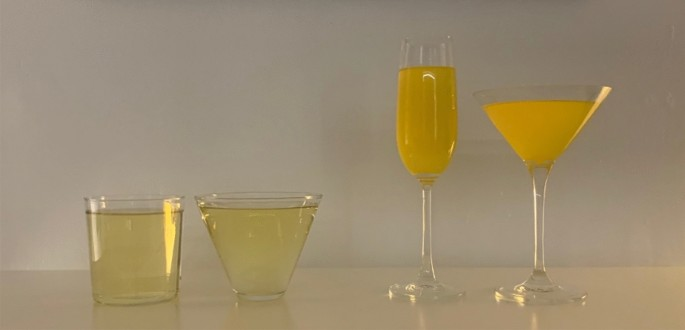 Glass shape influences drinking behaviours in three laboratory experiments