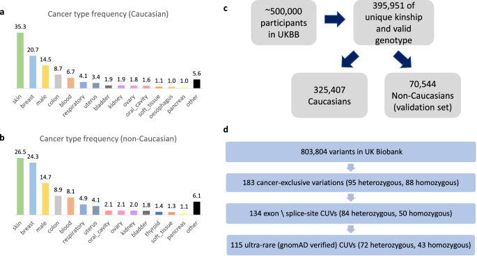 Expanding Cancer Predisposition Genes With Ultra Rare Cancer Exclusive Human Variations Scientific Reports