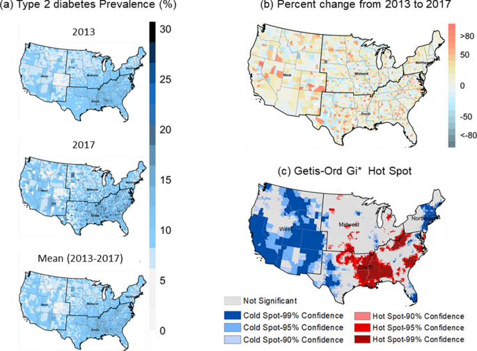 Geographically weighted machine learning model for untangling spatial heterogeneity of type 2 diabetes mellitus (T2D) prevalence in the USA