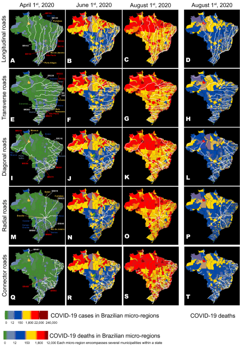 The impact of super-spreader cities, highways, and intensive care availability in the early stages of the COVID-19 epidemic in Brazil