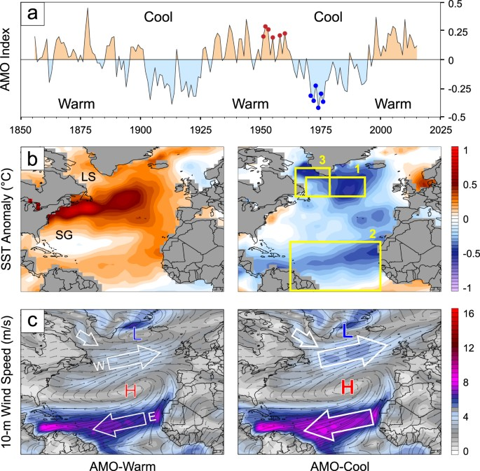 Evidence for a volcanic underpinning of the Atlantic