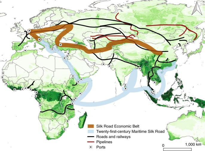 Environmental challenges for the Belt and Road Initiative | Nature ...