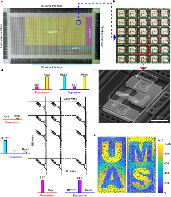 9b61538da62 Reinforcement learning with analogue memristor arrays