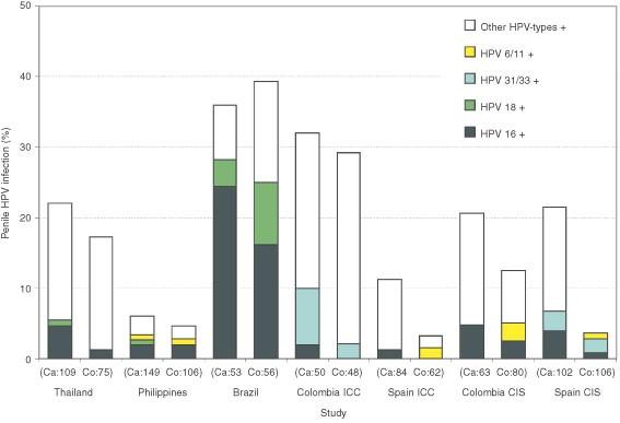 human papillomavirus infection number of cases