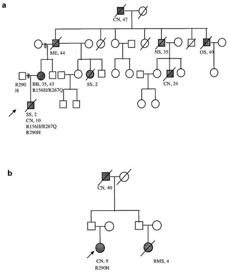 P53 Compound Heterozygosity In A Severely Affected Child