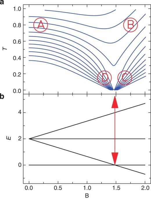 Quantum signatures of a molecular nanomagnet in direct ...