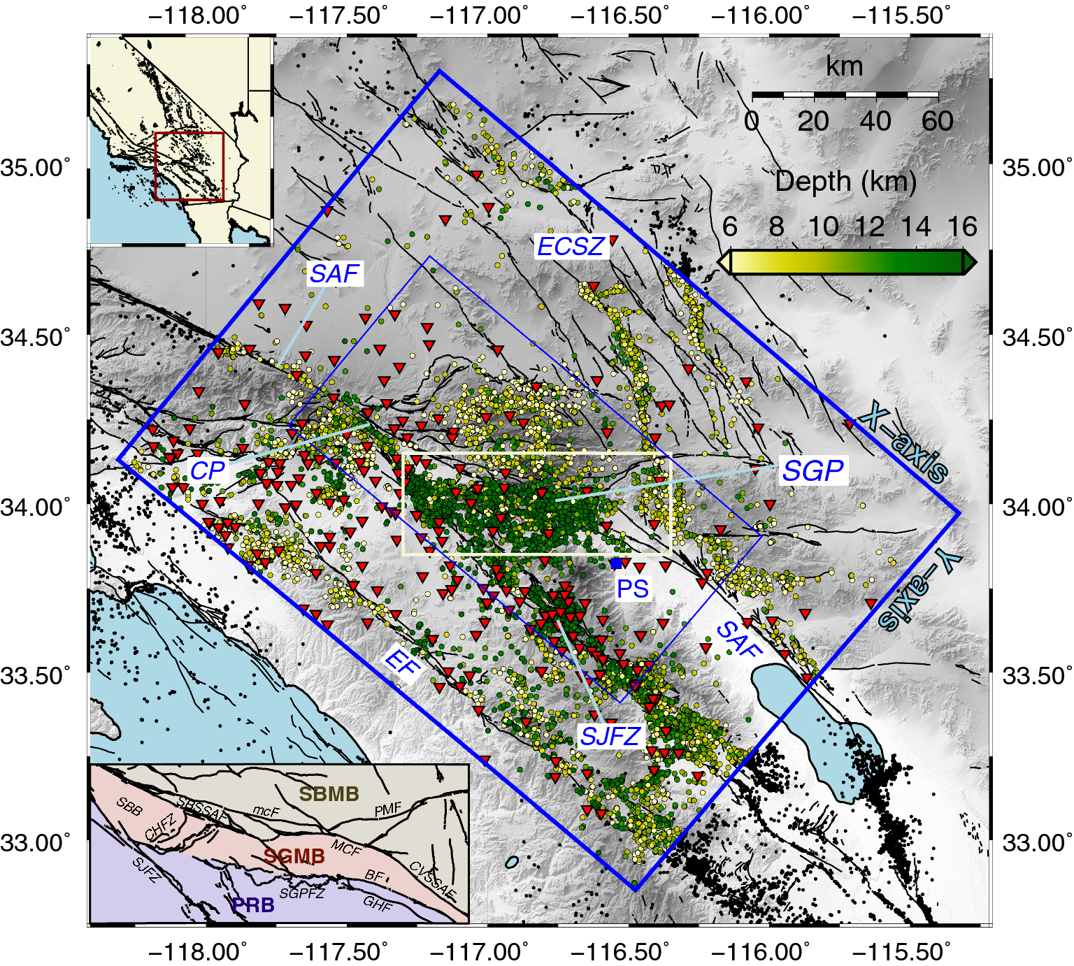 Seismic Imaging of the Southern California Plate Boundary around the