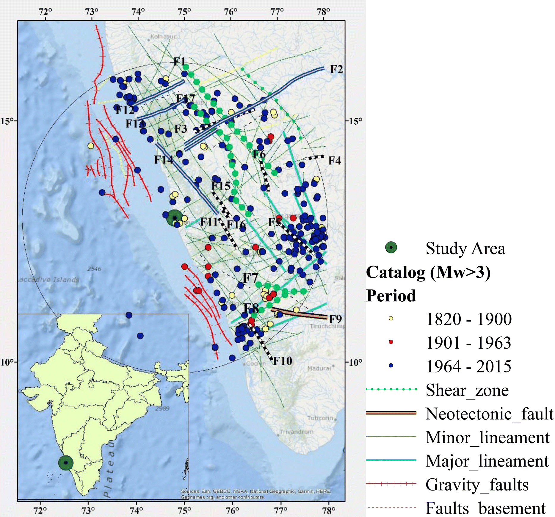 Probabilistic Seismic Hazard Assessment of Mangalore and Its