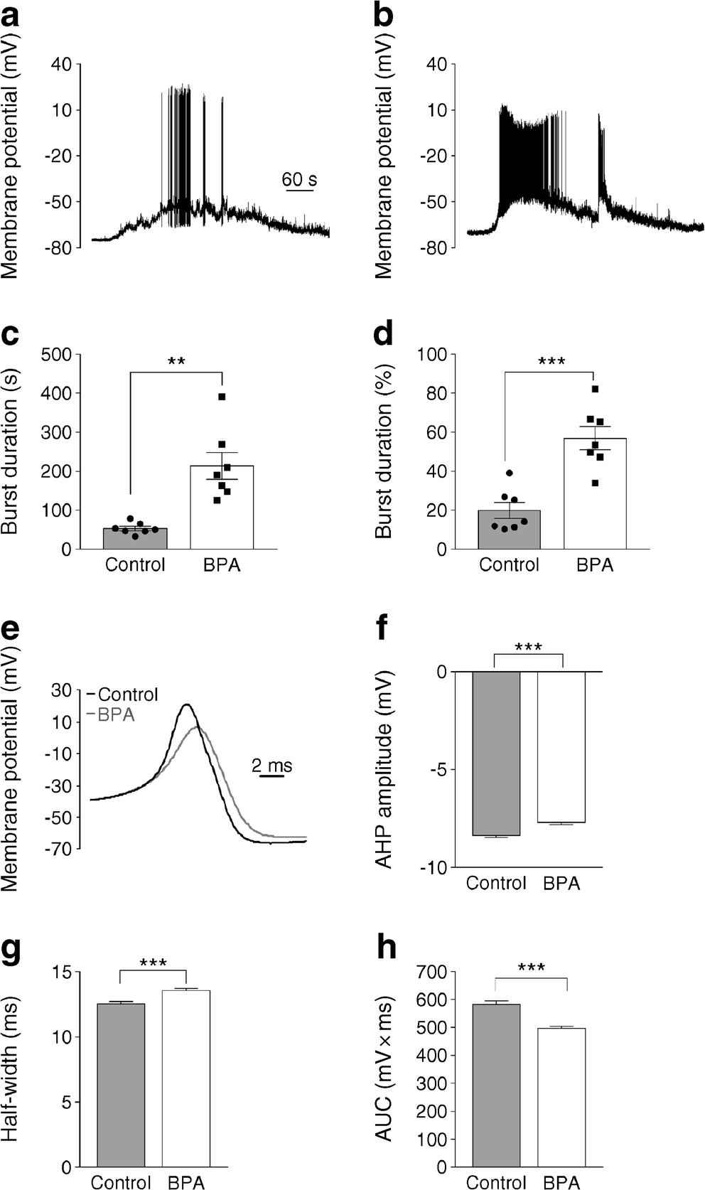 Oestrogen receptor β mediates the actions of bisphenol-A on