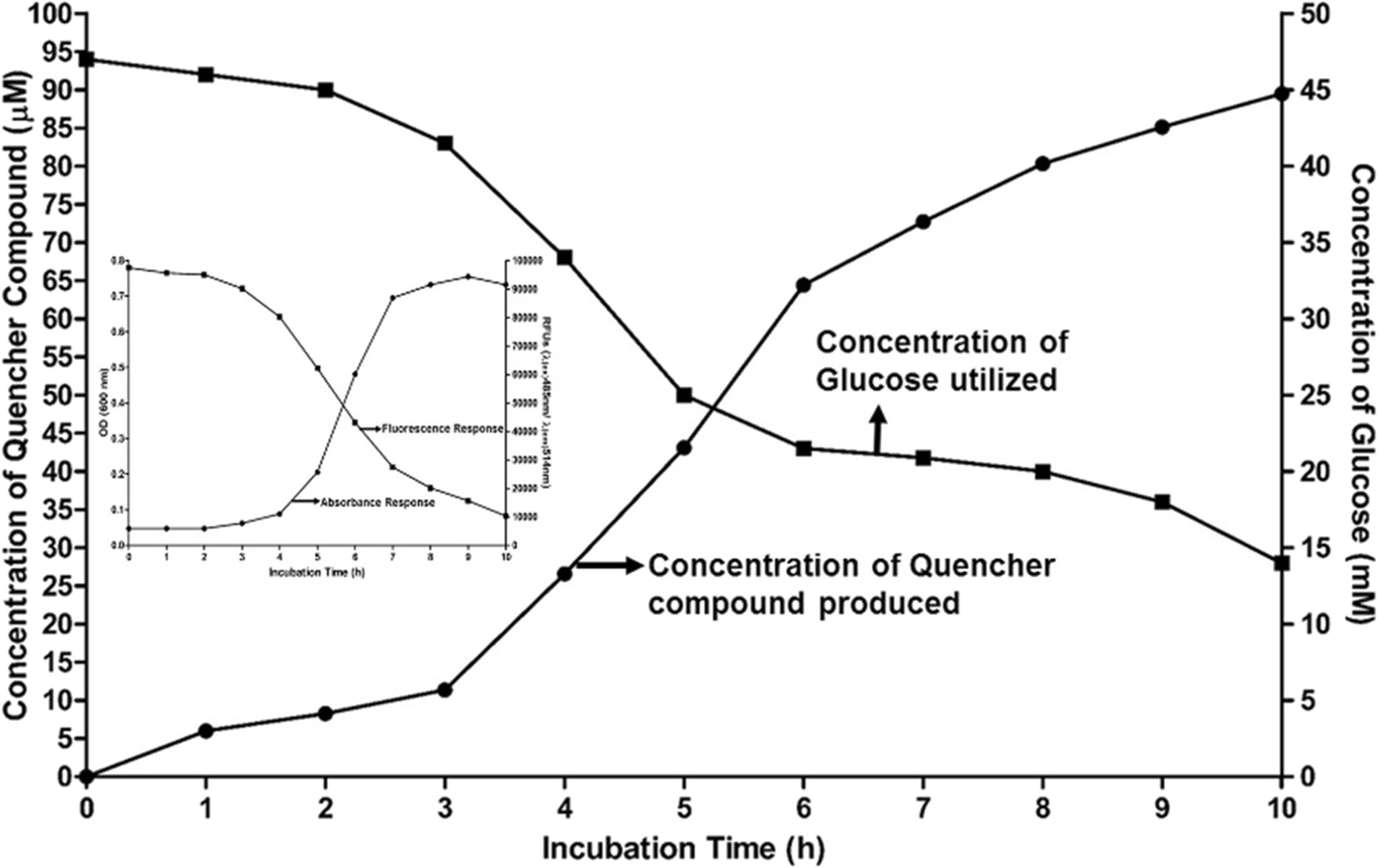 13-Docosenamide release by bacteria in response to glucose
