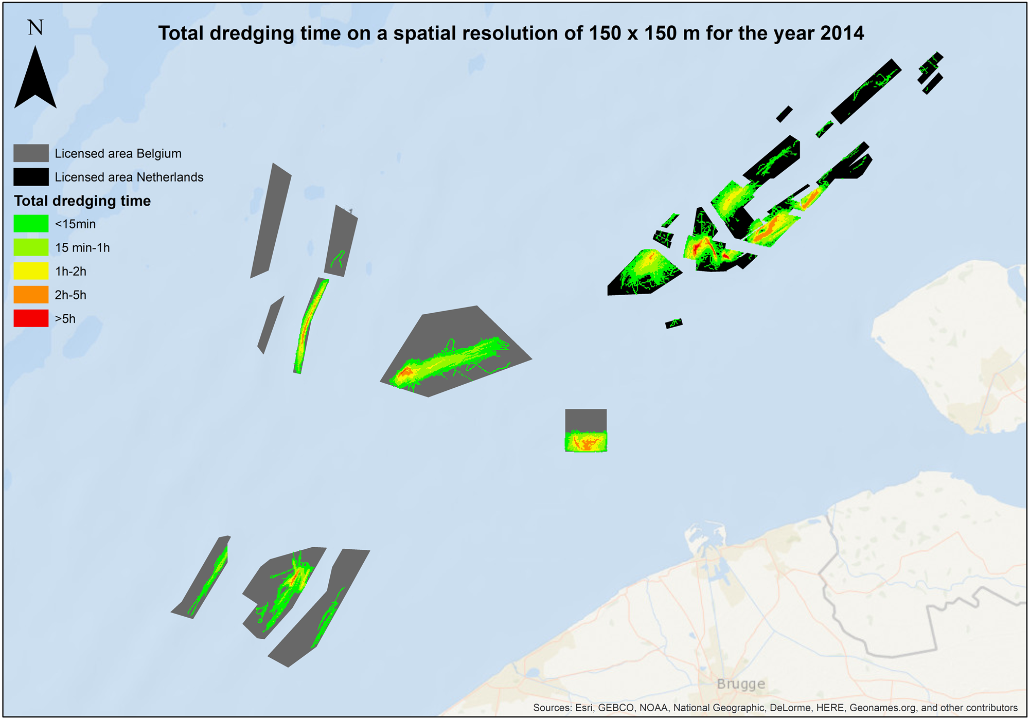 Dredging Intensity: A Spatio-Temporal Indicator for Managing