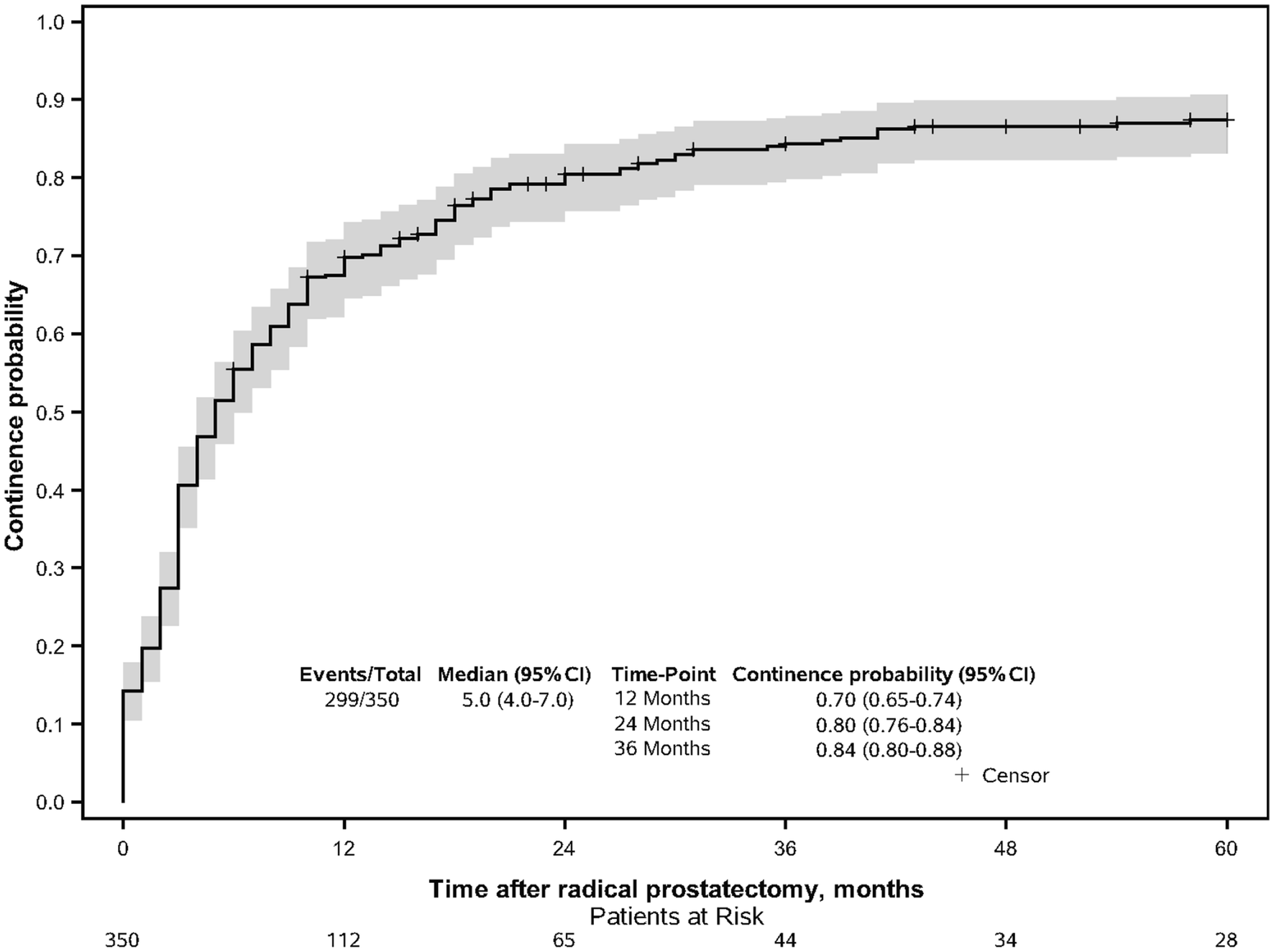 Recovery Of Pad Free Continence In Elderly Men Does Not Differ