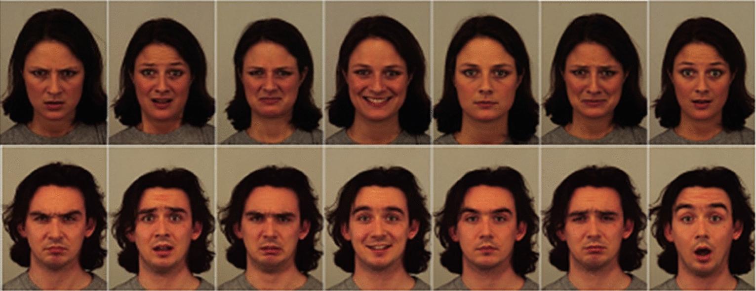 Facial emotion detection using modified eyemap–mouthmap