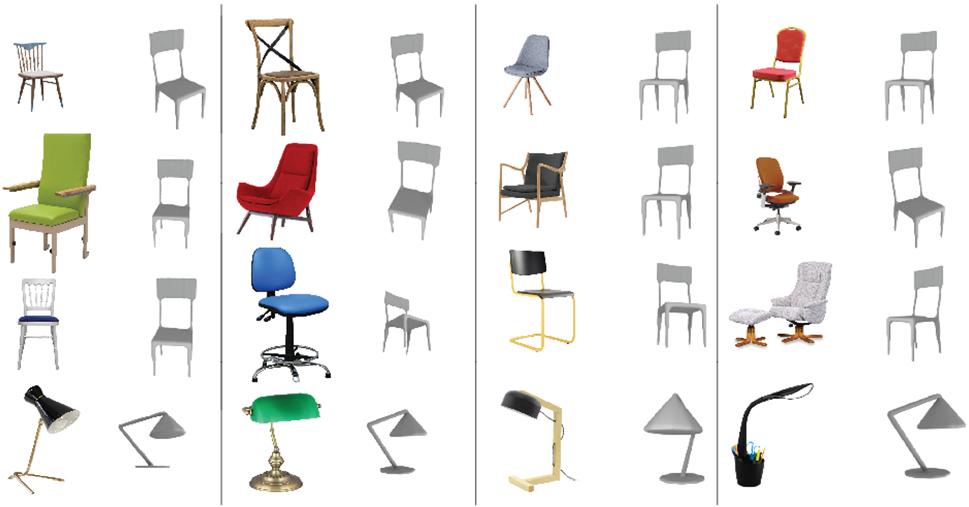 Prime Image Driven Unsupervised 3D Model Co Segmentation Evergreenethics Interior Chair Design Evergreenethicsorg