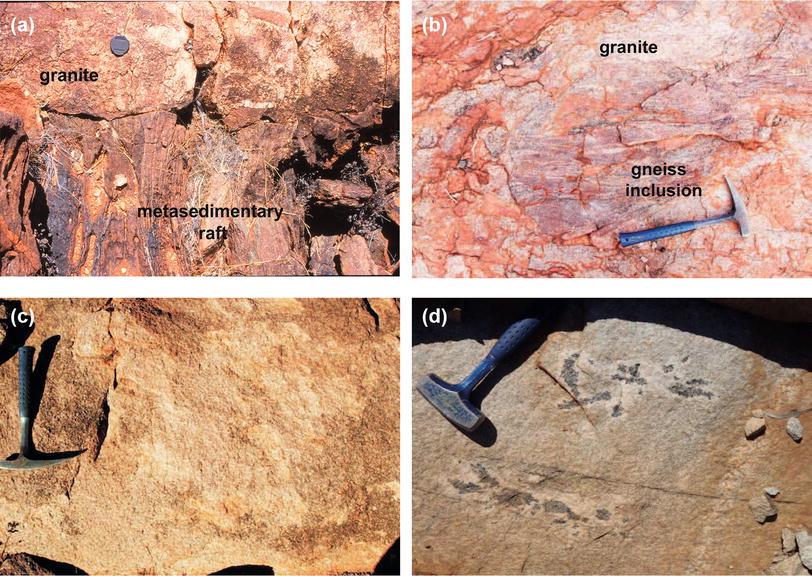 Zircon dating of granites