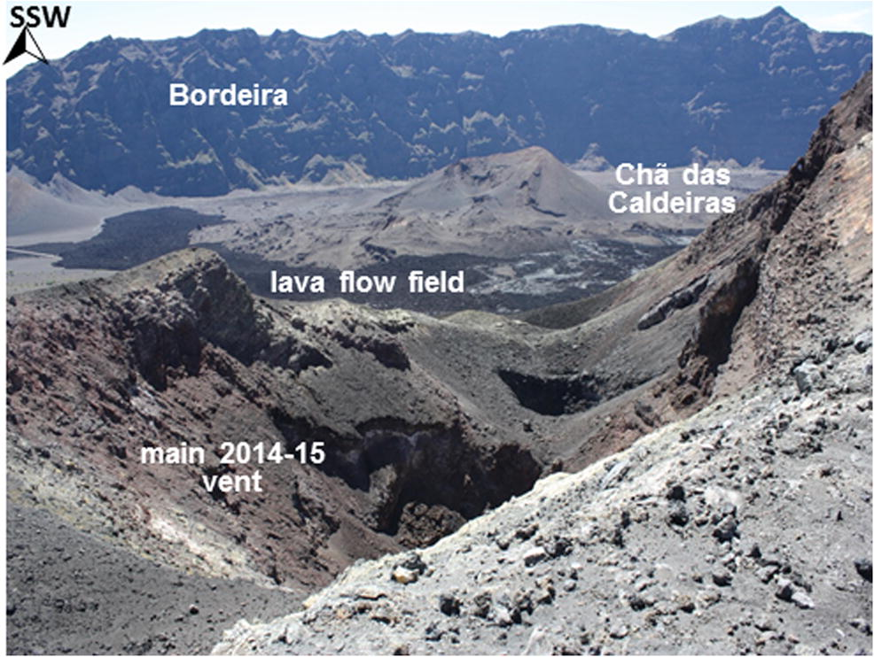 Mineralogy and chemistry of incrustations resulting from the 2014