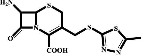 Enzymatic synthesis of cefazolin using immobilized
