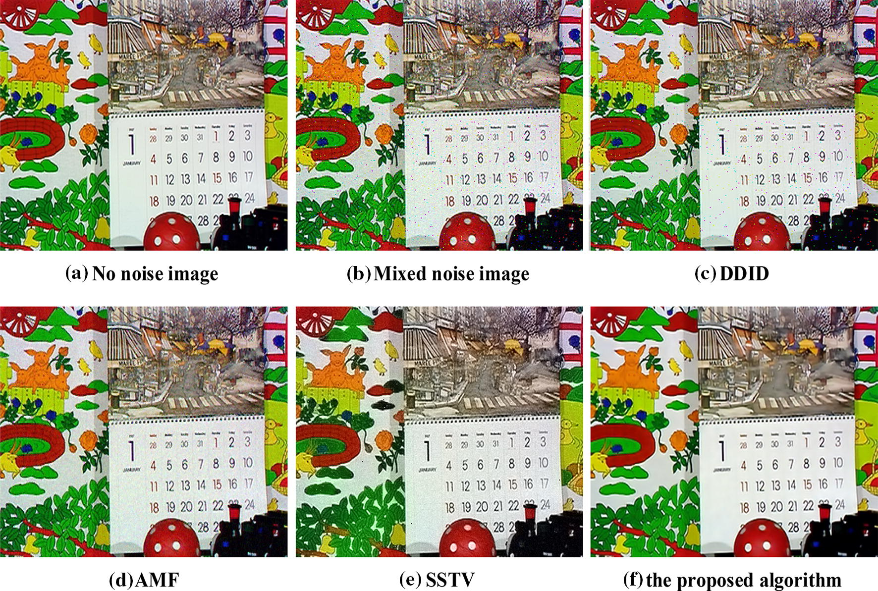 An improved image mixed noise removal algorithm based on super