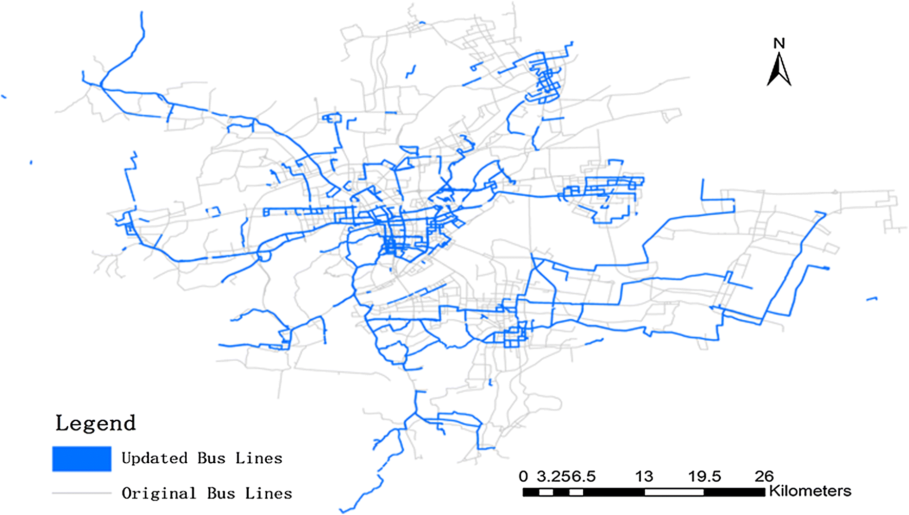 Spatiotemporal analysis of trajectory for a new real-time bus routes ...
