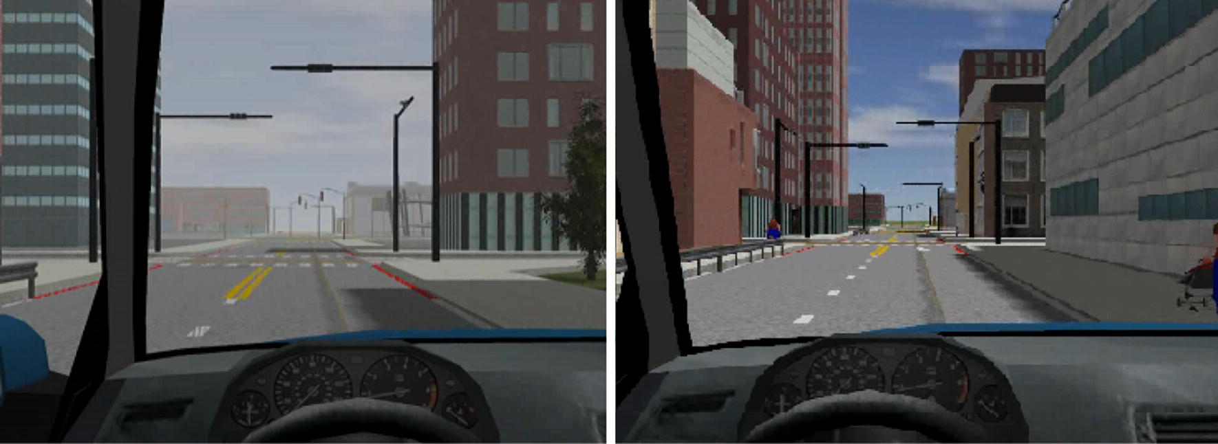 Simulation and application of cooperative driving sense systems