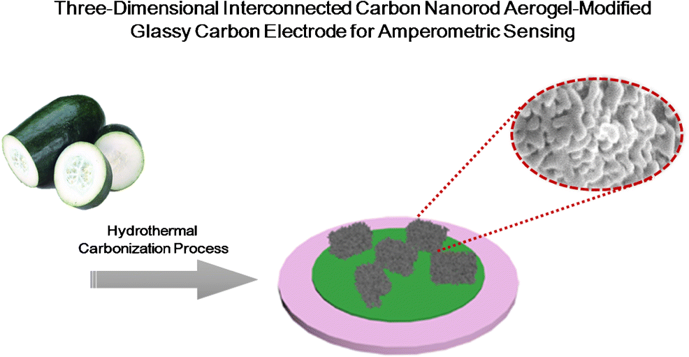 Synthesis of a three-dimensional interconnected carbon