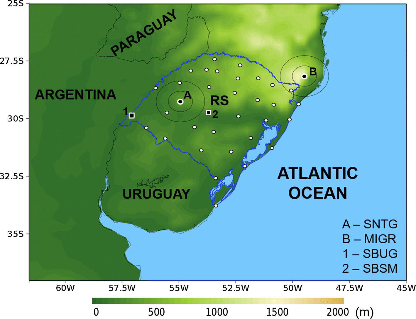 Analysis of two derecho events in Southern Brazil | SpringerLink