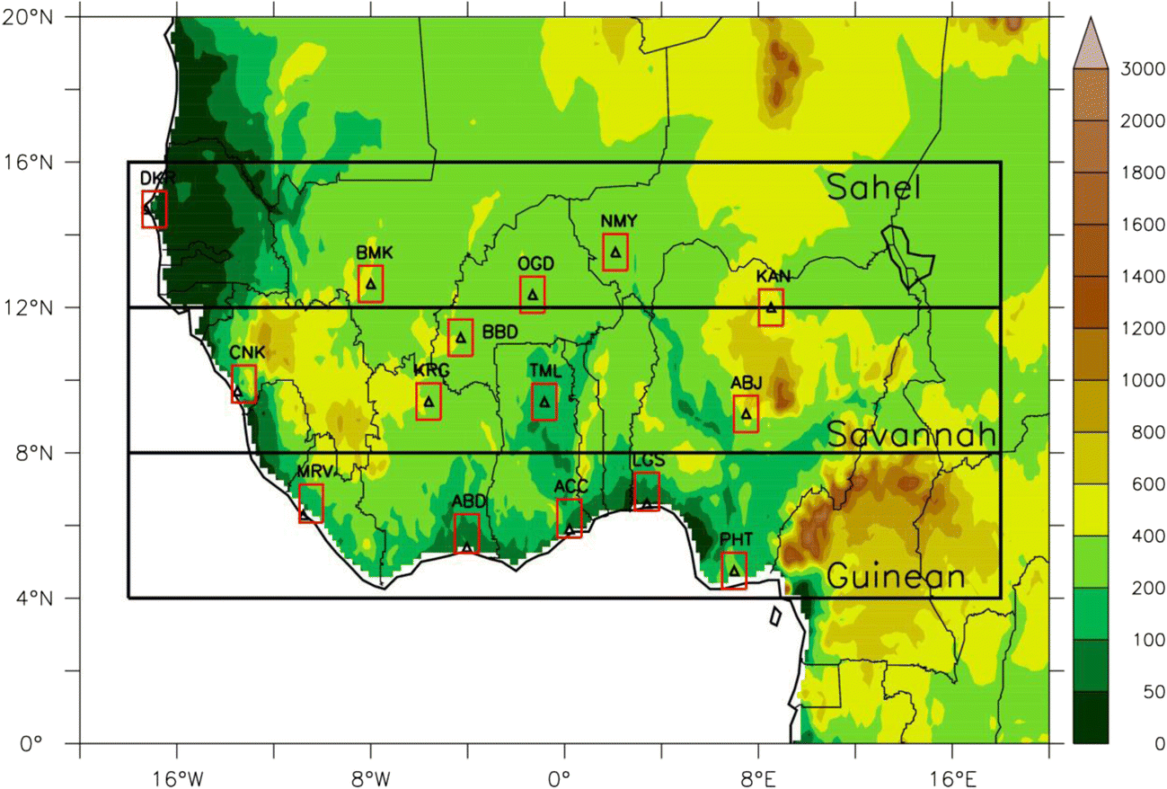 Projected changes in wind energy potential over West Africa
