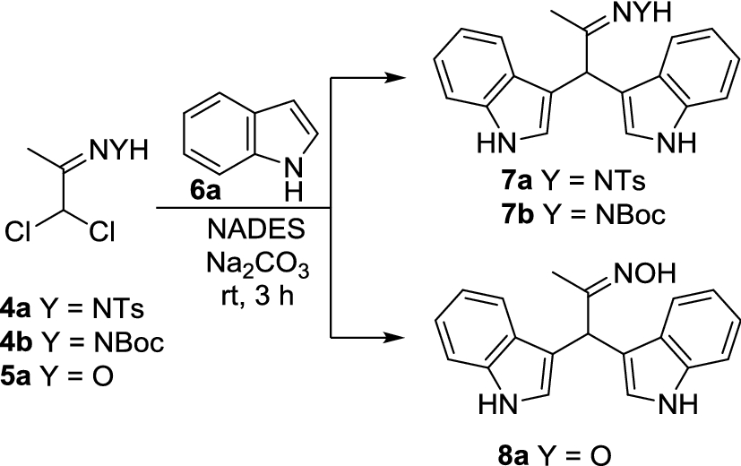 Natural deep eutectic solvents in the hetero-Diels–Alder