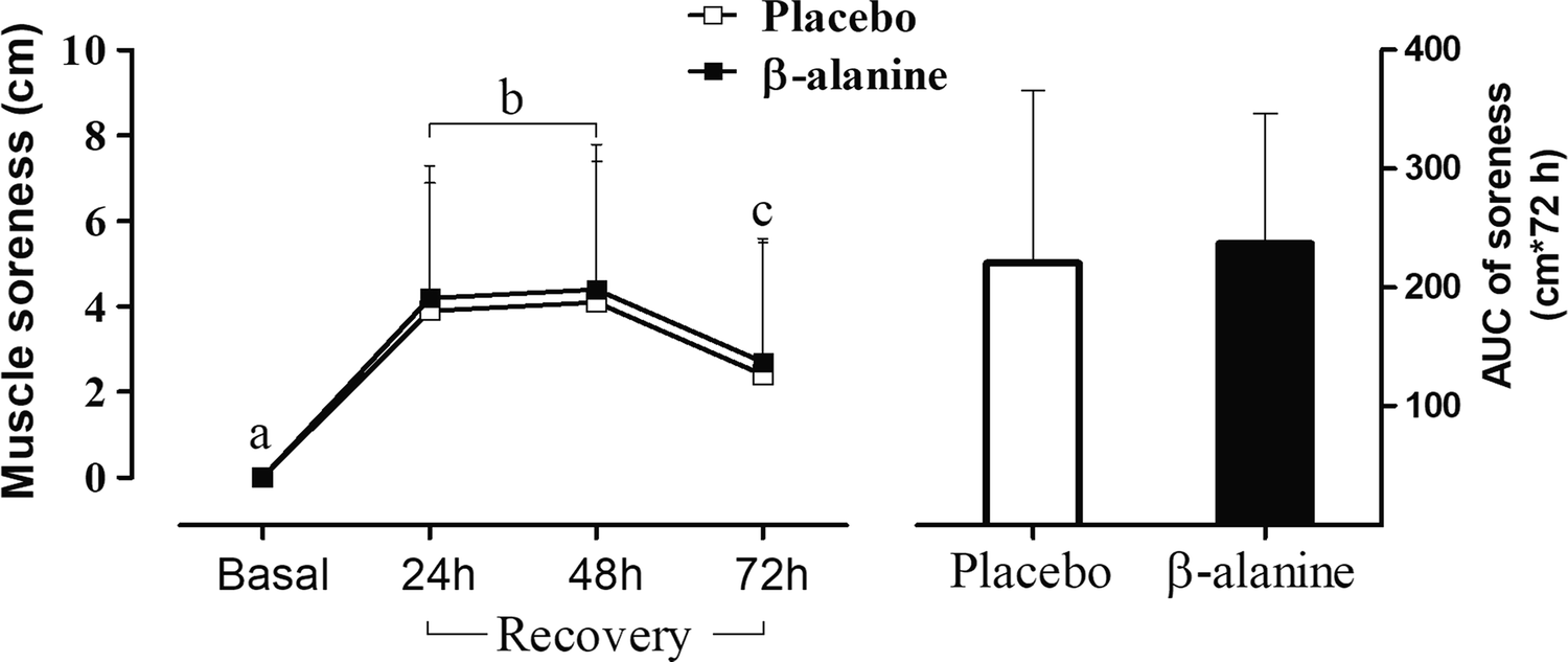 Effects of beta-alanine supplementation on muscle function