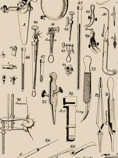 """Die """"Akiurgischen Abbildungen"""" von Ernst Blasius (1802–1875 ..."""