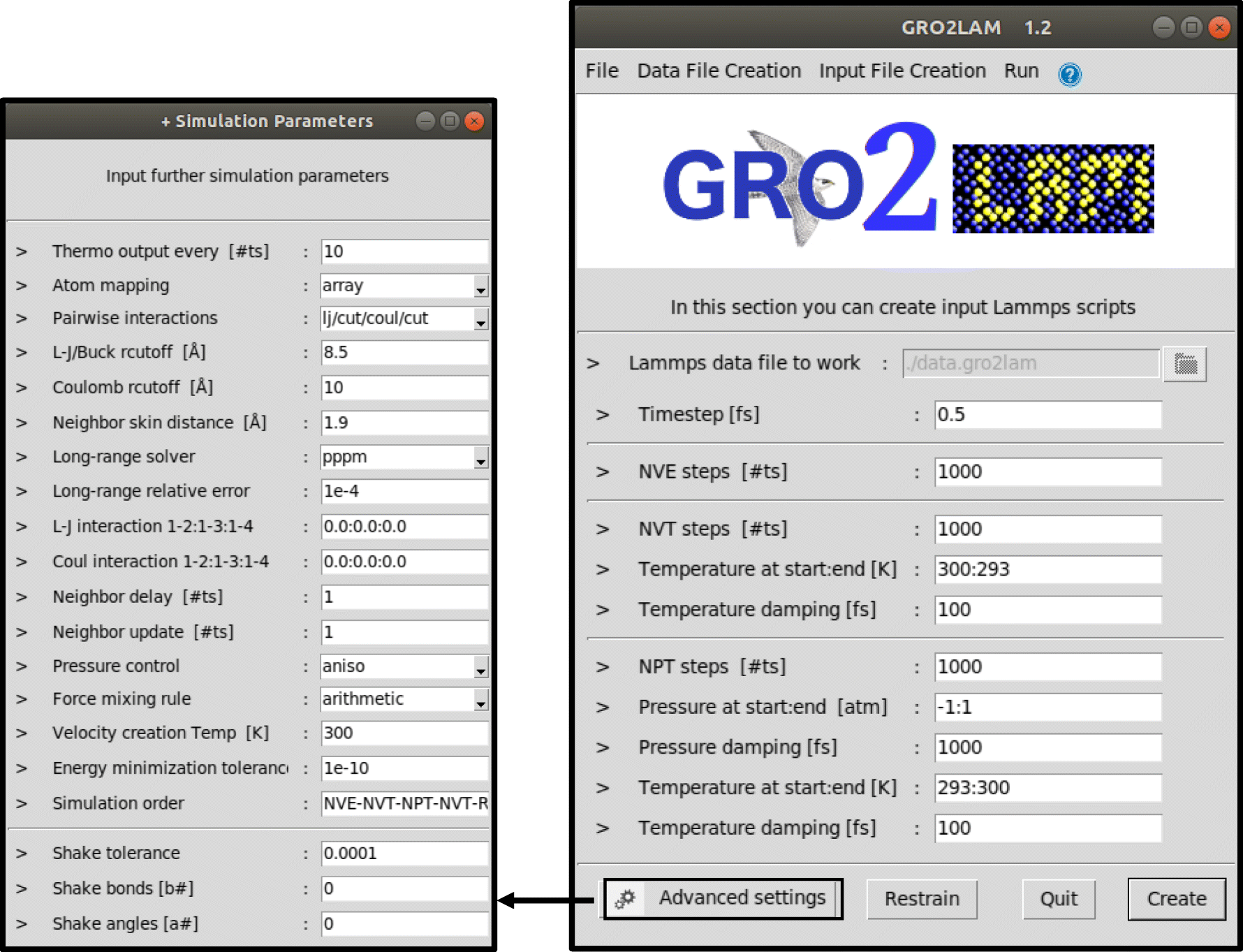 From GROMACS to LAMMPS: GRO2LAM | SpringerLink