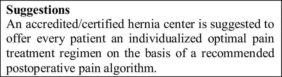 Accreditation and certification requirements for hernia