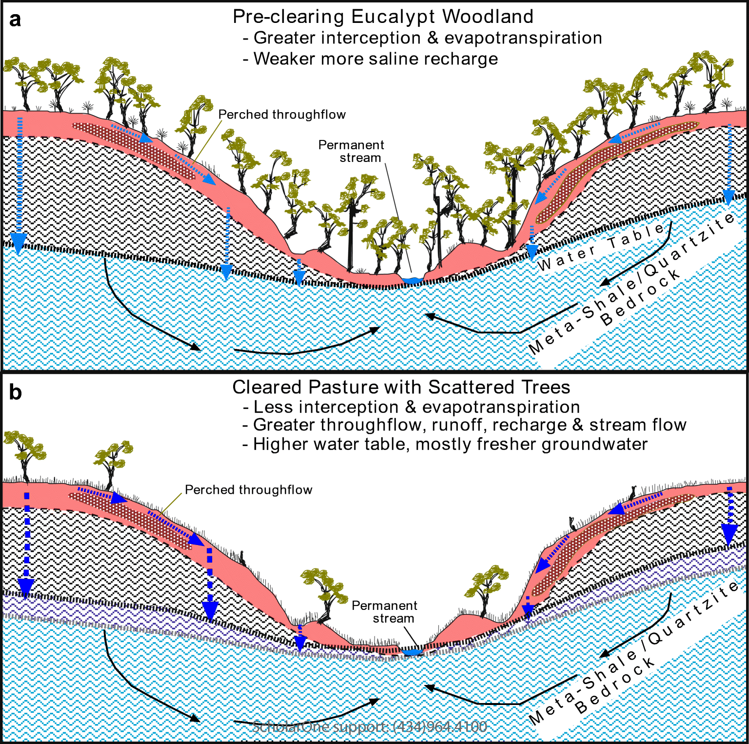 Salinity Balance And Historical Flushing Quantified In A