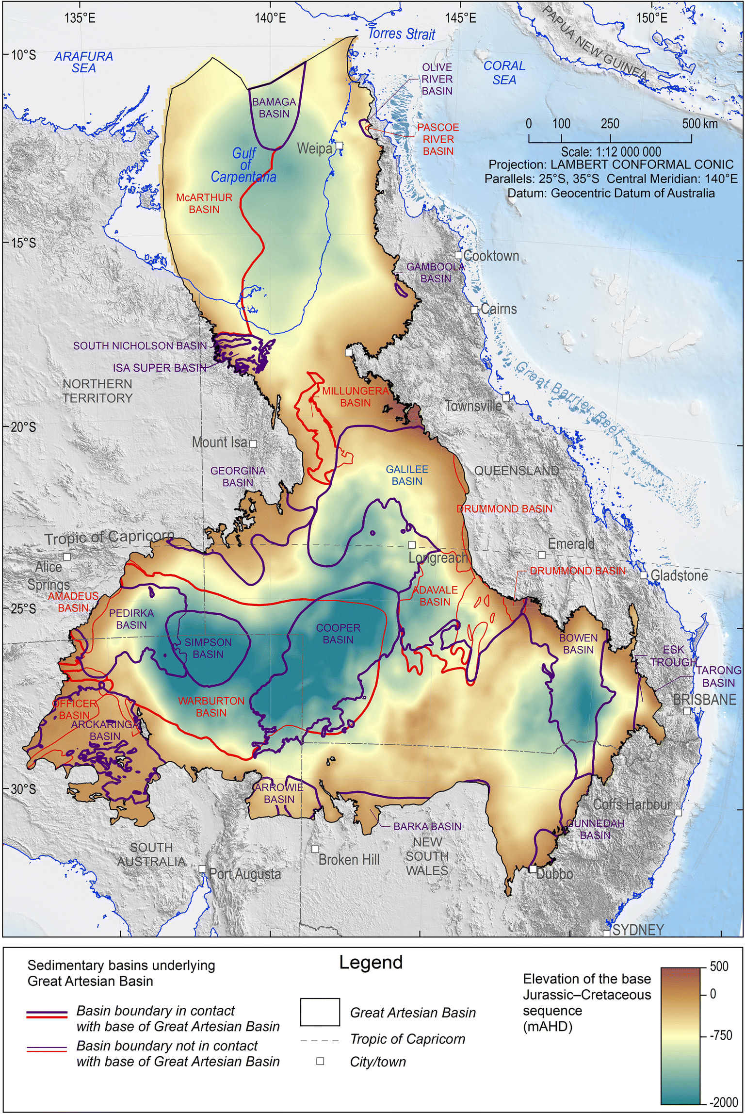 Connectivity between Australia\'s Great Artesian Basin ...