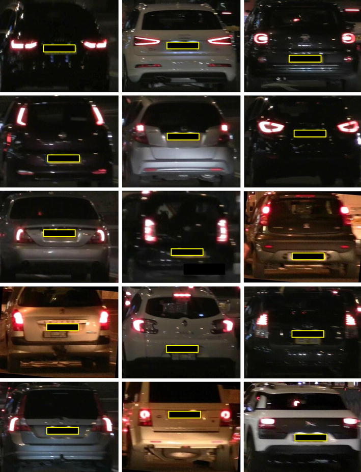 Car make and model recognition under limited lighting
