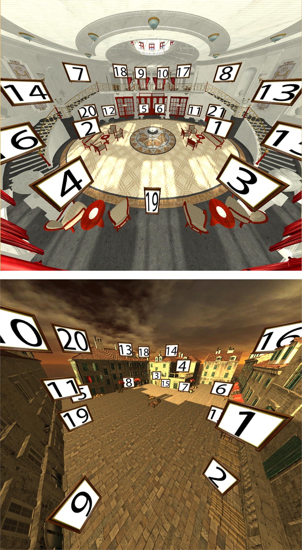 Virtual memory palaces: immersion aids recall | SpringerLink