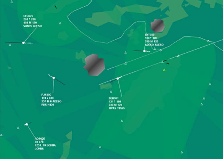 Classification of air traffic control scenarios using ...